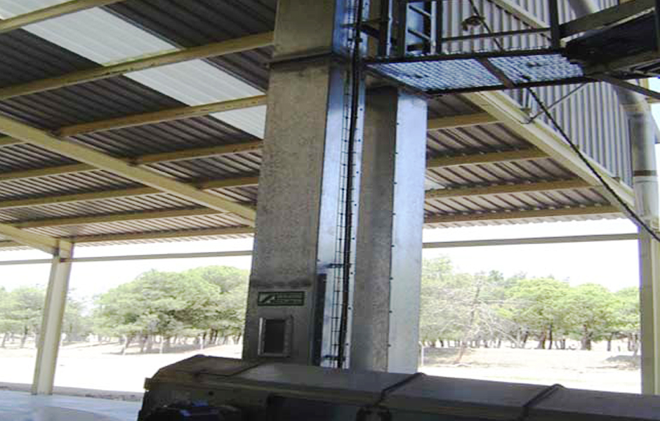 elevadores bandas cortes