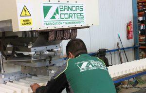 fabricacion bandas especiales bandas cortes