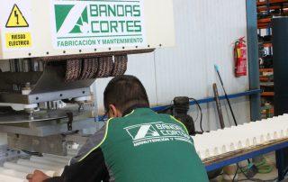 fabricacion bandas perfileria bandas cortes