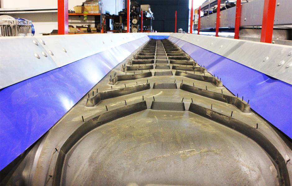 fabricacion transportador banda caucho bandas cortes