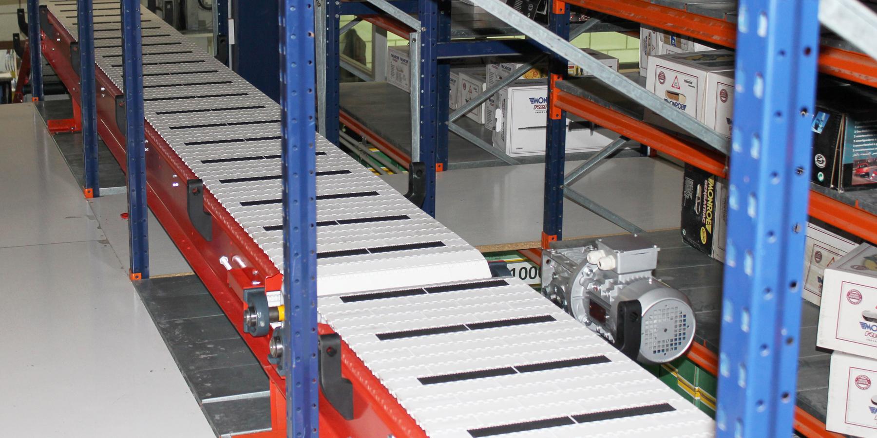 transportador de banda modular bandas cortes