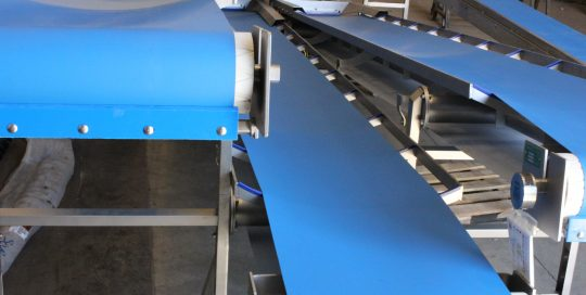 cinta inoxidable para industria agroalimentaria bandas cortes