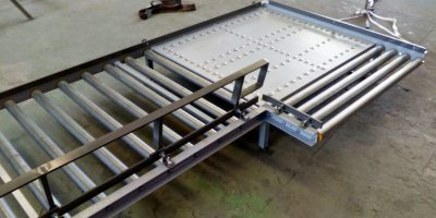 transportador manual de pallets