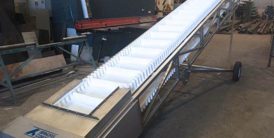 cinta inox granallado bandas cortes