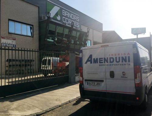 Bandas Cortés implanta el servicio técnico de Amenduni en Extremadura