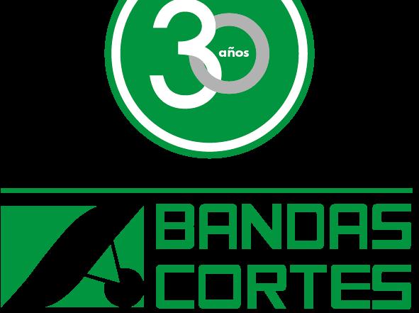 logotipo bandas cortes + 30 años